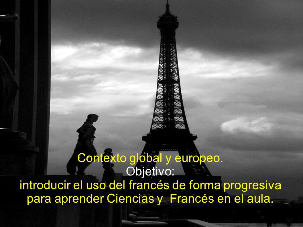Contexto global y europeo.