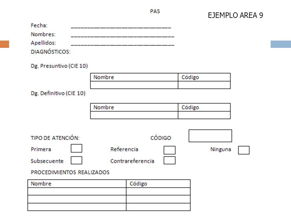 EJEMPLO AREA 9