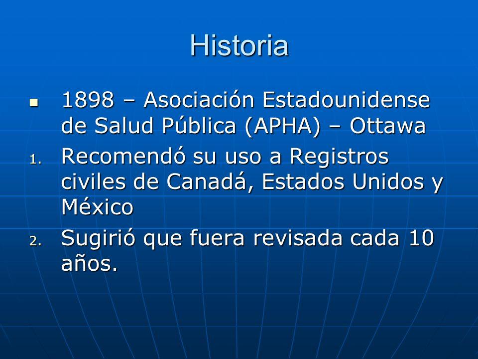 Historia 1898 – Asociación Estadounidense de Salud Pública (APHA) – Ottawa 1898 – Asociación Estadounidense de Salud Pública (APHA) – Ottawa 1.