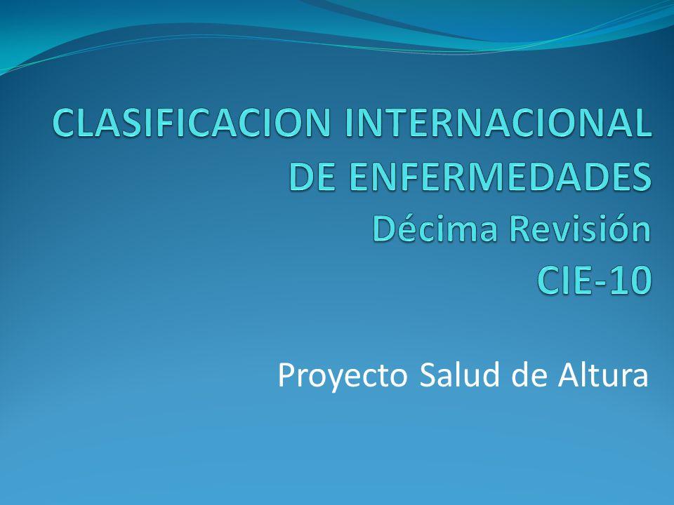 Proyecto Salud de Altura