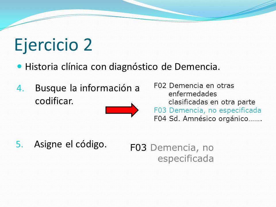 Ejercicio 2 4.Busque la información a codificar. 5.