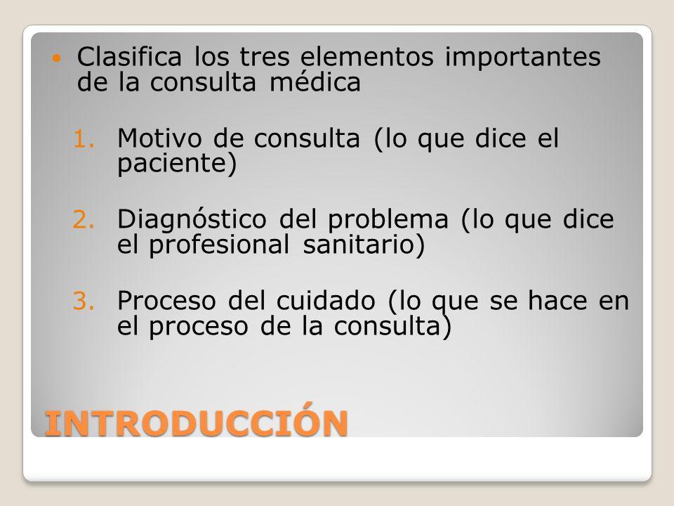 Tips para clasificar Para exhaustivo (1 al 7) El episodio de enfermedad es el foco lógico de estudio (uno o varias consultas) El motivo de consulta, el proceso de atención y el diagnóstico deben mantener la relación lógica de los elementos entre si.