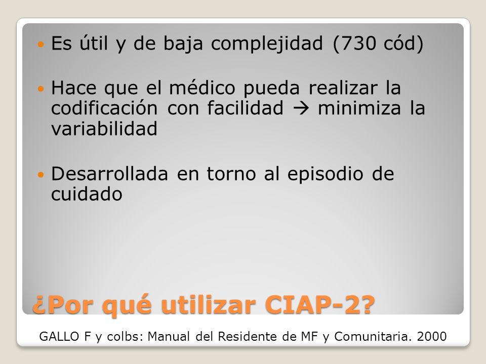¿Por qué utilizar CIAP-2.