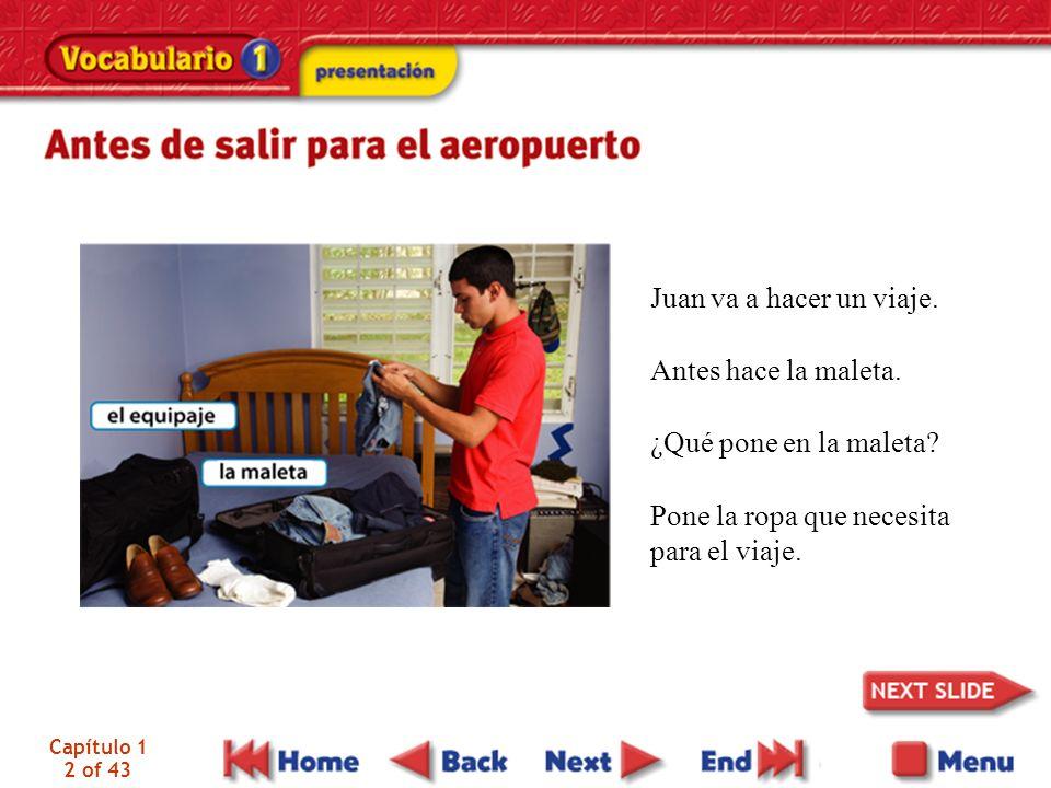 Capítulo 1 3 of 43 Juan sale para el aeropuerto en taxi.