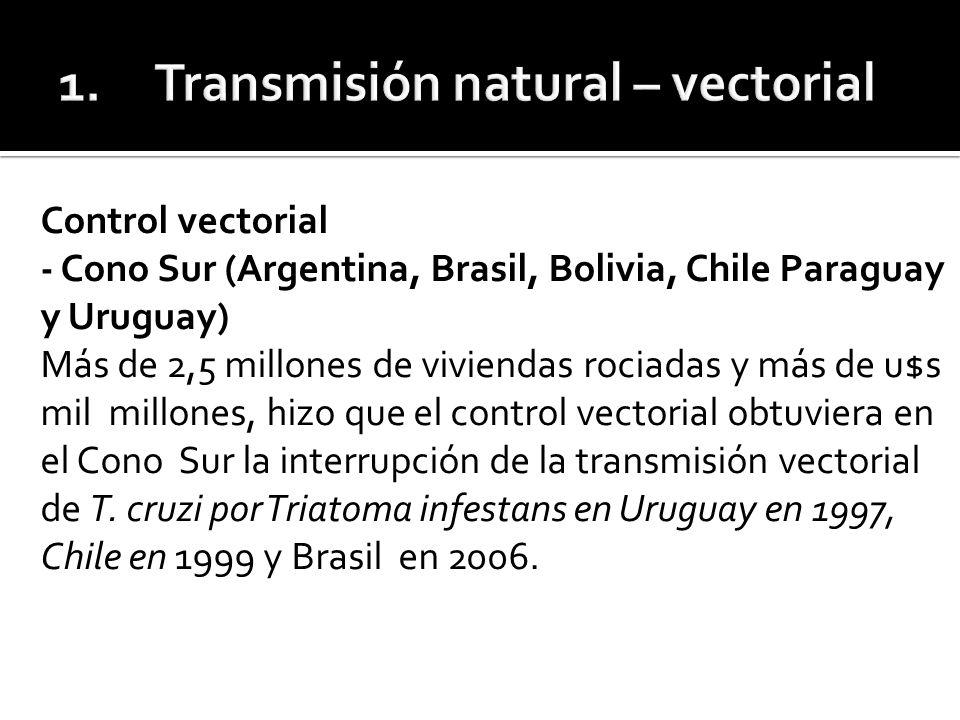 En Argentina se considera la transmisión interrumpida en cuatro provincias, pero faltan acciones sostenidas de control en las otras provincias endémicas.