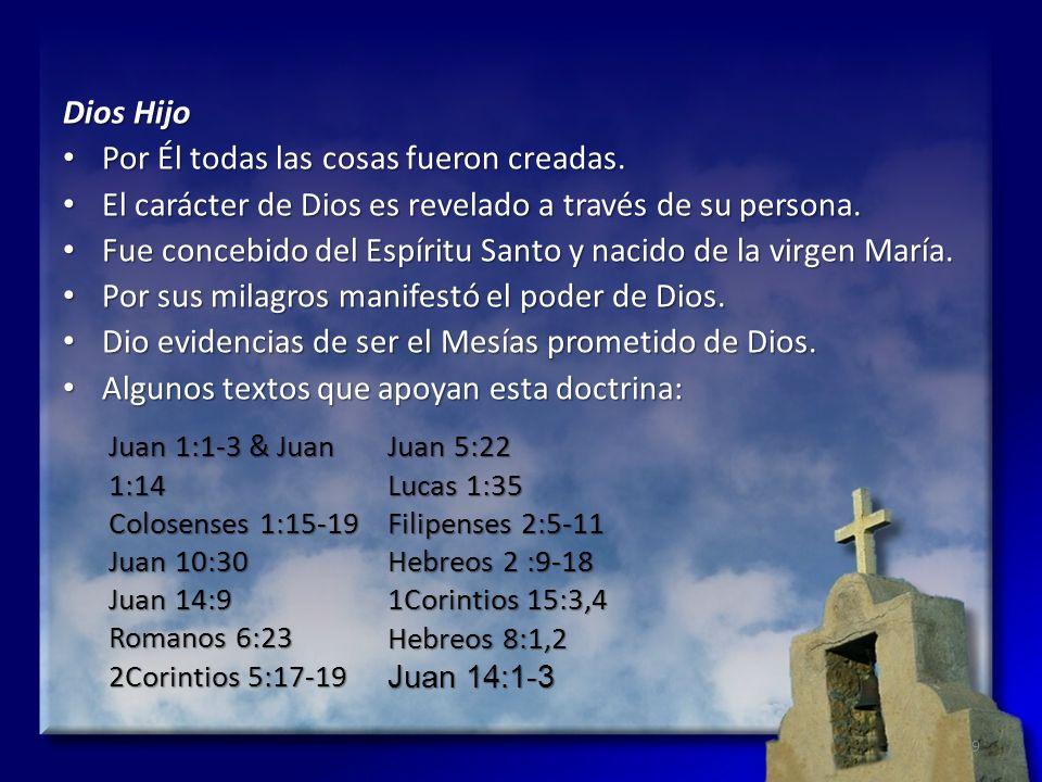 La vida, la muerte, y la resurrección de Cristo Al encarnarse fue 100% hombre y 100% Dios.