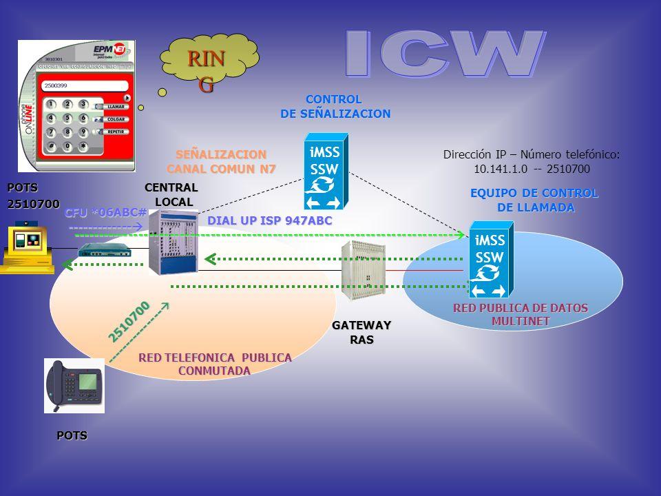 Con este servicio el usuario de EPM.NET puede recibir llamadas mientras se encuentra navegando sin perder su conexión al internet. Cuando el usuario s