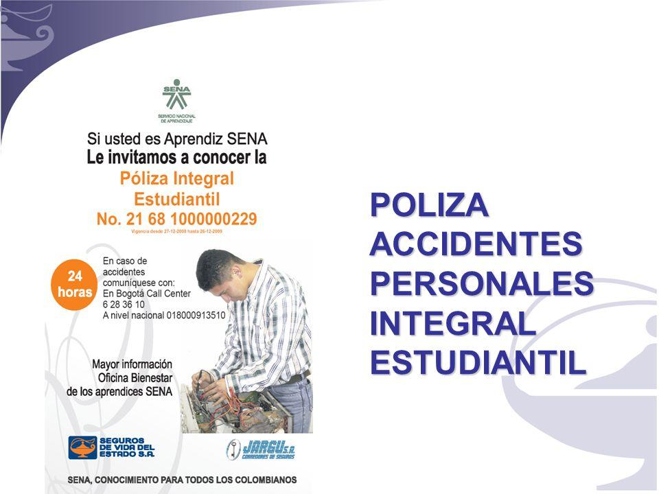 1 POLIZA ACCIDENTES PERSONALES INTEGRAL ESTUDIANTIL
