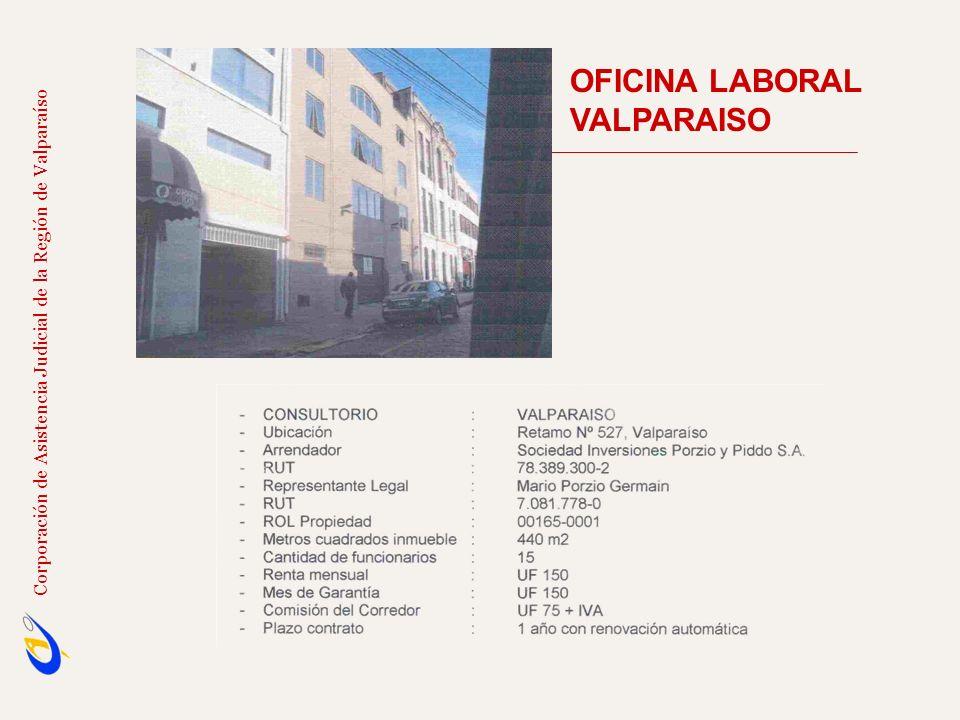 OFICINA LABORAL VALPARAISO Corporación de Asistencia Judicial de la Región de Valparaíso