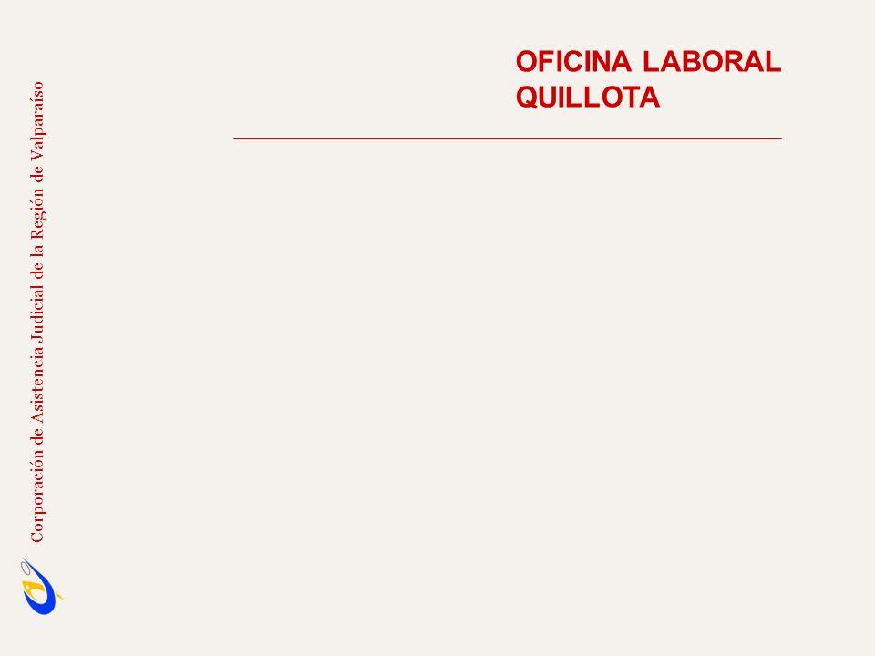 OFICINA LABORAL QUILLOTA Corporación de Asistencia Judicial de la Región de Valparaíso