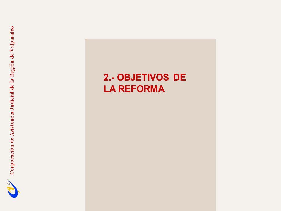 2.- OBJETIVOS DE LA REFORMA La Nueva Justicia Laboral constituye un avance histórico para nuestro país.