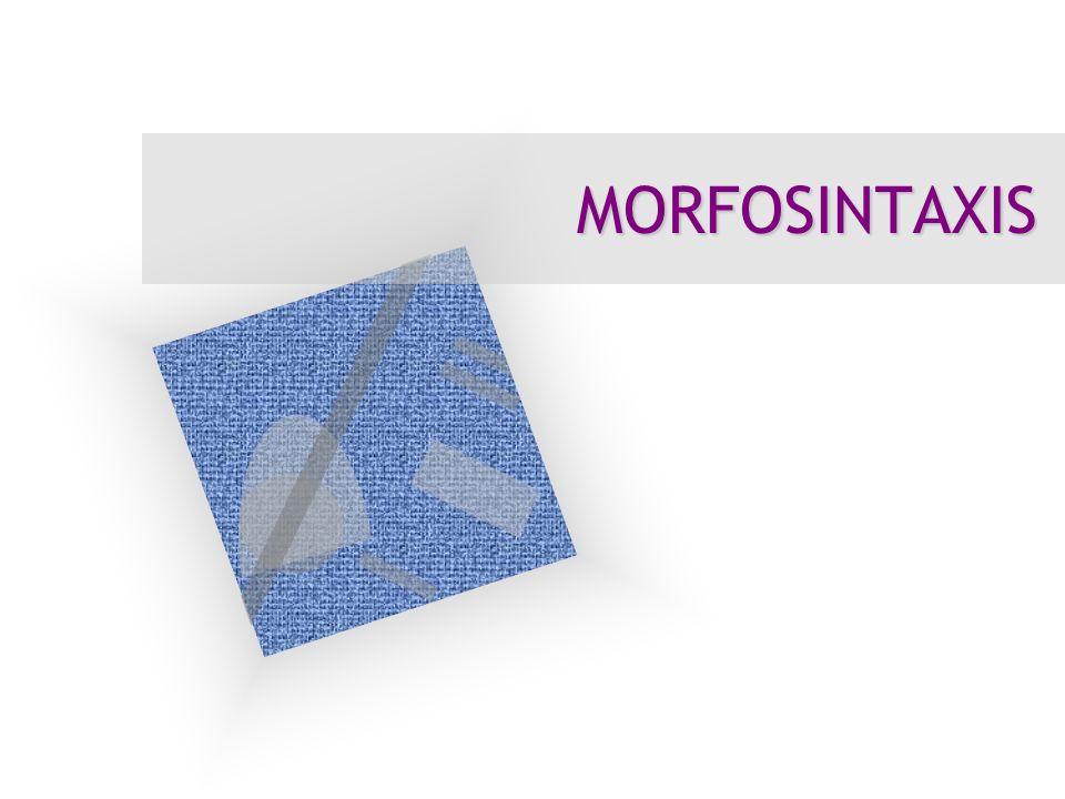 La morfología La morfología es el estudio de las formas.