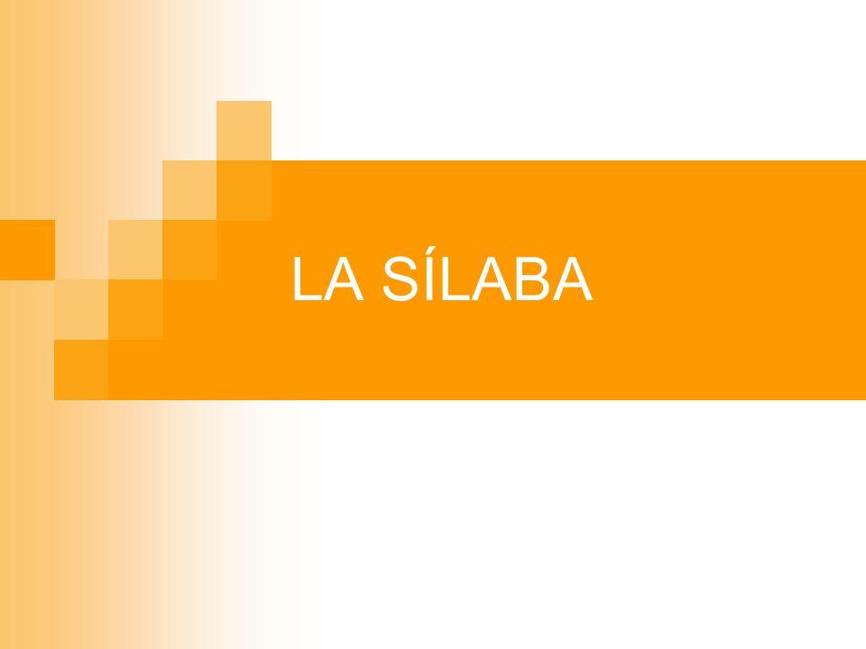 La sílaba - principio de secuencia según la resonancia Parece que universalmente … Se favorece un incremento de resonancia del límite de la sílaba hacia su núcleo.