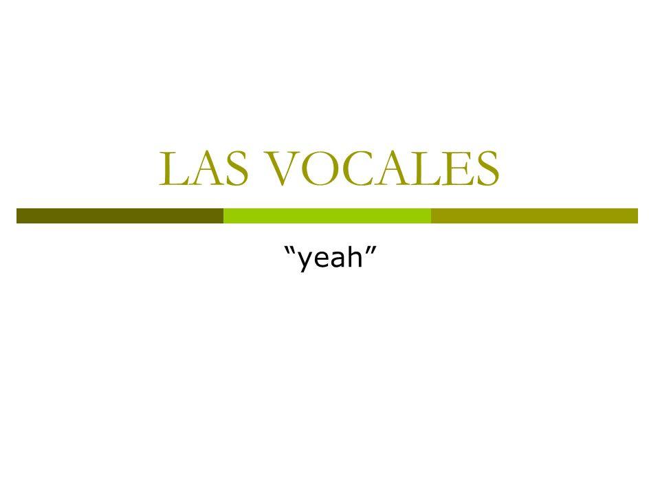 Lo que no son diptongos Secuencia de vocales en sílabas distintas Español: grúa, baúl, veo … con aproximante que no está en el núcleo con la vocal: Inglés: yacht [ jAt ] Nu C V C j A t