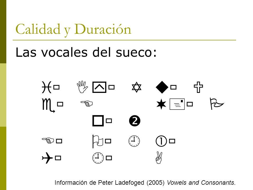 Alófonos Posición en la sílaba Común: más cerradas en sílabas libres.