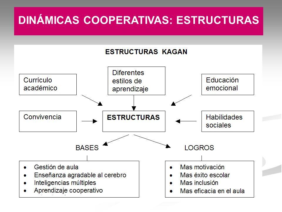 DINÁMICAS COOPERATIVAS: ESTRUCTURAS