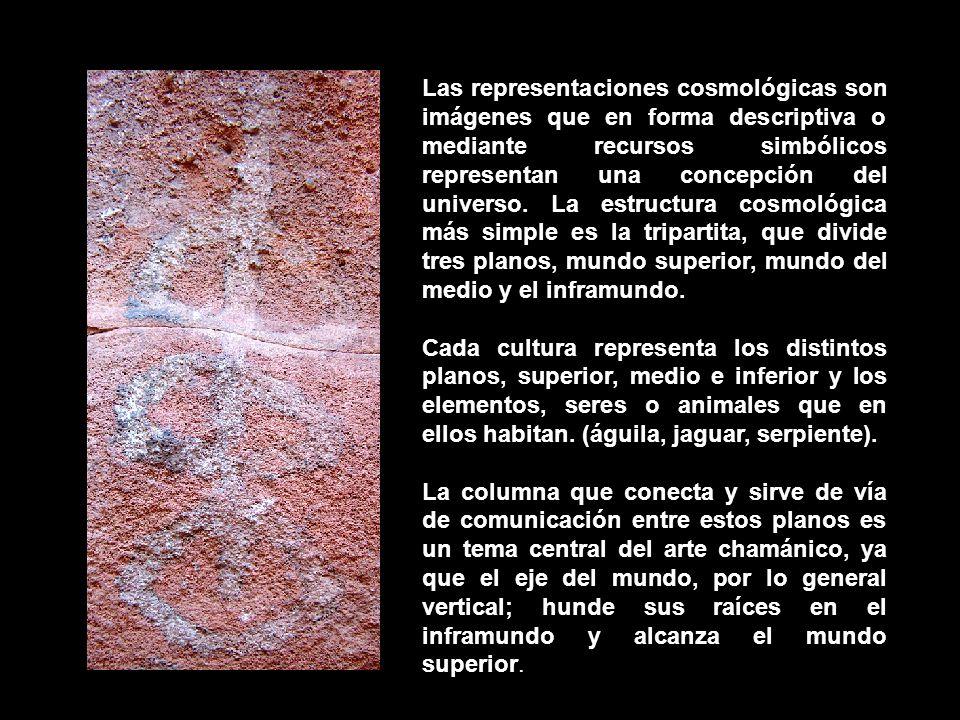 Las representaciones cosmológicas son imágenes que en forma descriptiva o mediante recursos simbólicos representan una concepción del universo.