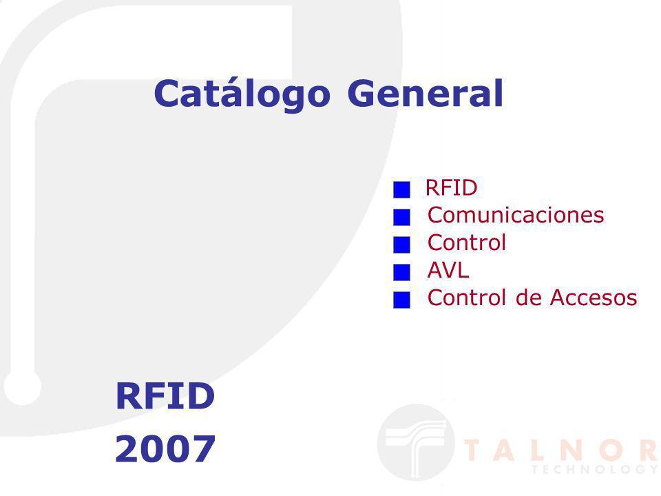 Catálogo de RFID Largo Alcance Corto Alcance Antenas Tags Unidades de Sintonía Medidas