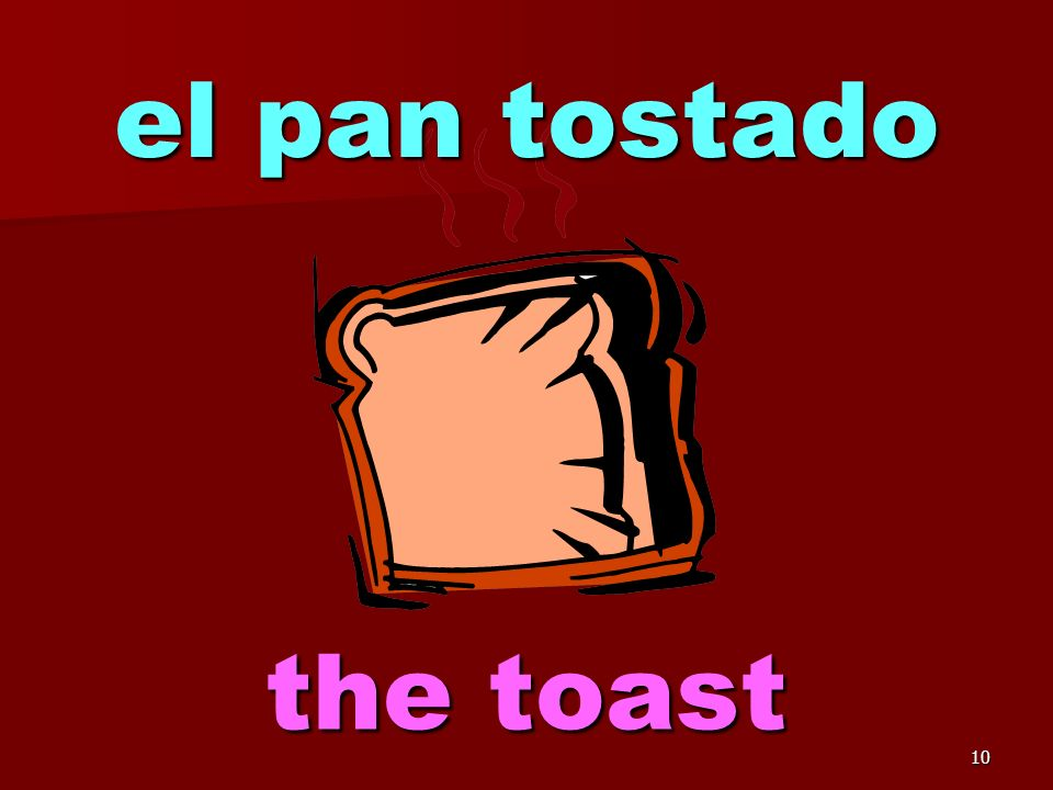 9 el pan the bread