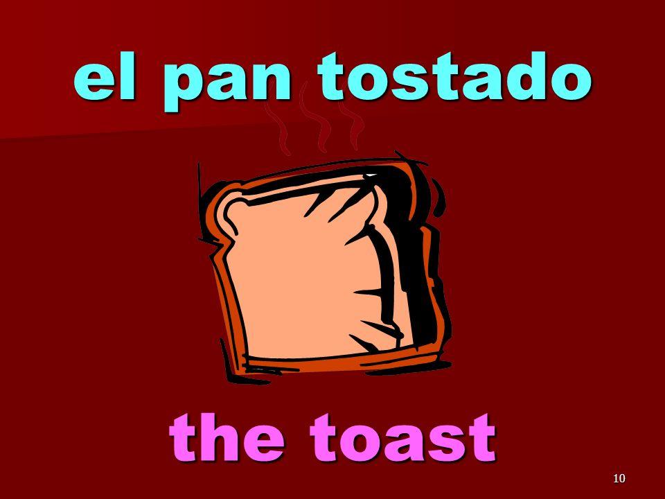 9 el pan the bread