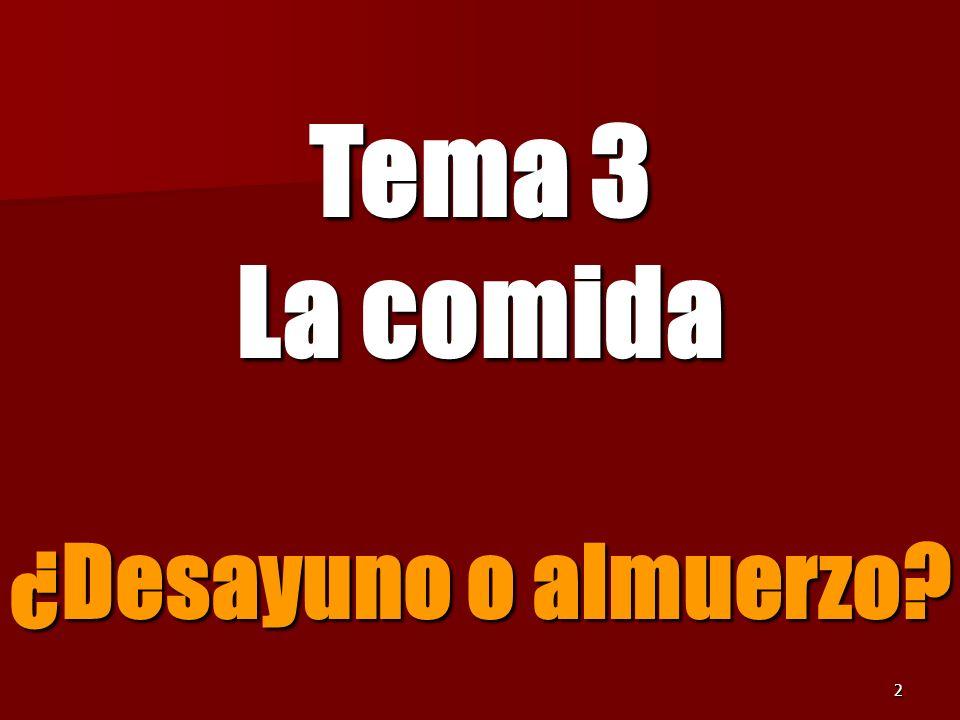 22 el jamón the ham