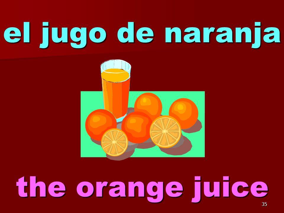 34 el jugo de manzana the apple juice