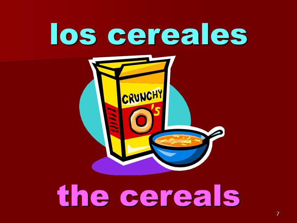 7 los cereales the cereals