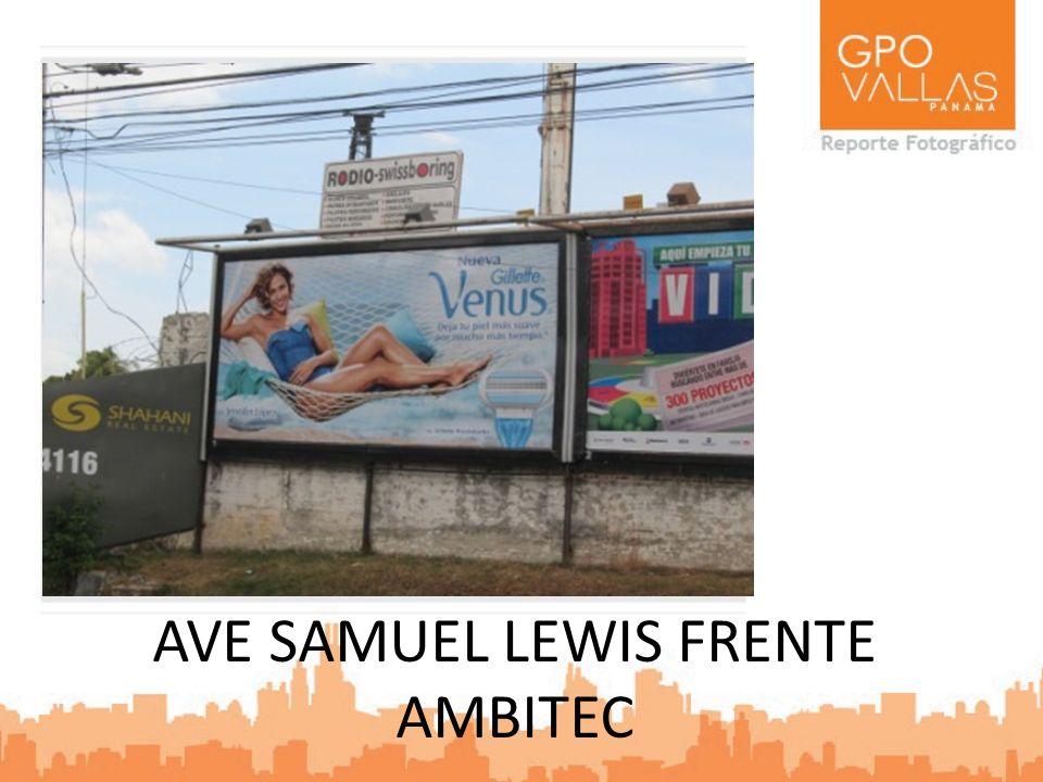 AVE SAMUEL LEWIS FRENTE AMBITEC