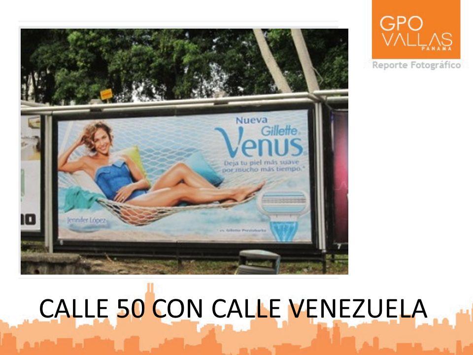 CALLE 50 CON CALLE VENEZUELA