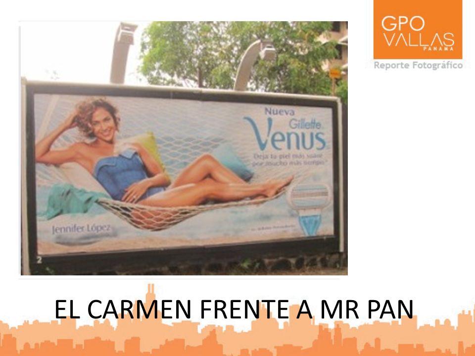 EL CARMEN FRENTE A MR PAN