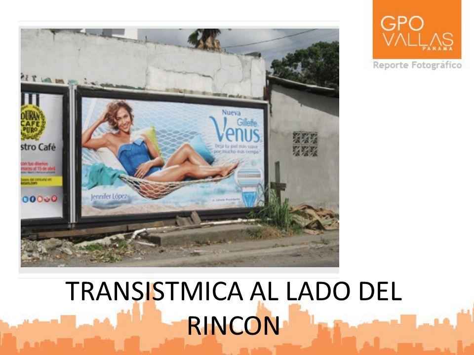 TRANSISTMICA AL LADO DEL RINCON