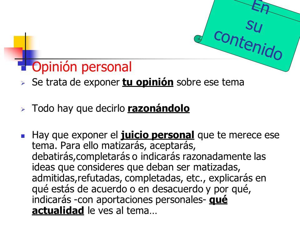 Lo que debe ser un comentario crítico. Coordinador de la PAU, Universidad de Murcia. Centrándonos en el desarrollo: 3.1. Valoración crítica En la valo
