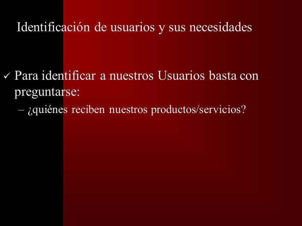 1. Identificación de procesos clave y de apoyo Procesos clave: –Atañen a diferentes áreas del servicio y tienen impacto en el cliente (usuario) creand