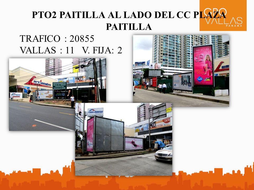 CC10 CALLE 50 FRENTE A GLOBAL BANK TRAFICO : 35917 VALLAS : 9 - Medida Especial