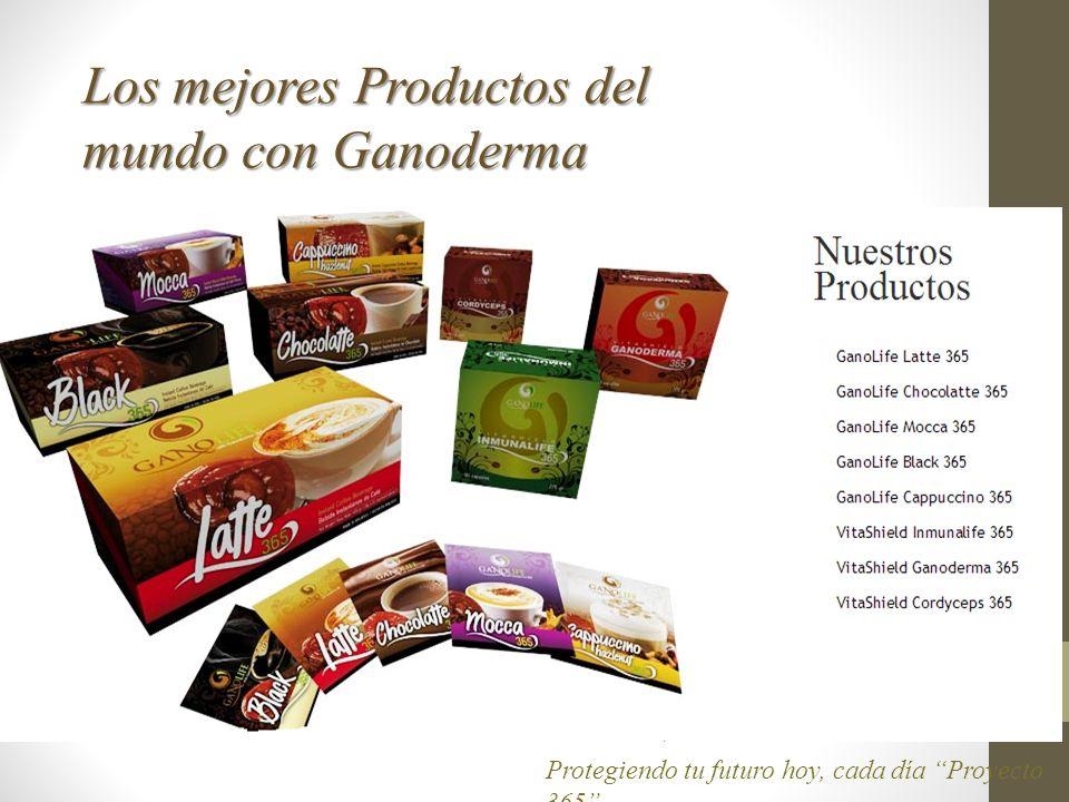 Los mejores Productos del mundo con Ganoderma Protegiendo tu futuro hoy, cada día Proyecto 365