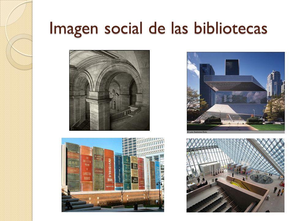Imagen social de las bibliotecas
