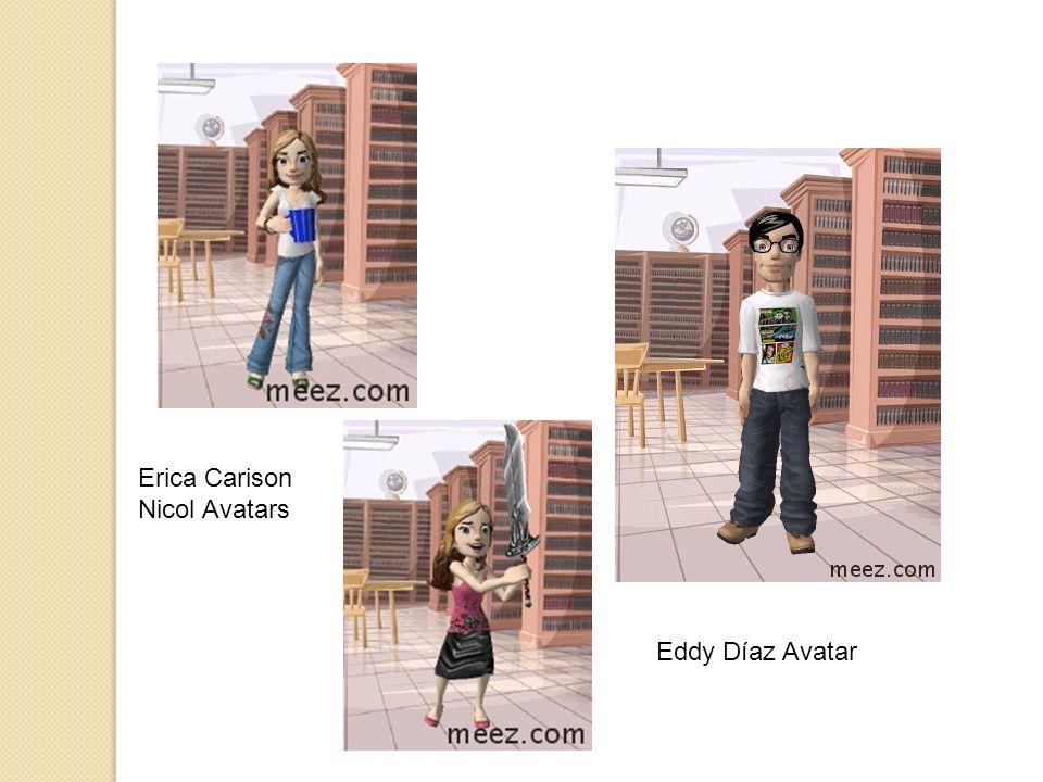 Erica Carison Nicol Avatars Eddy Díaz Avatar