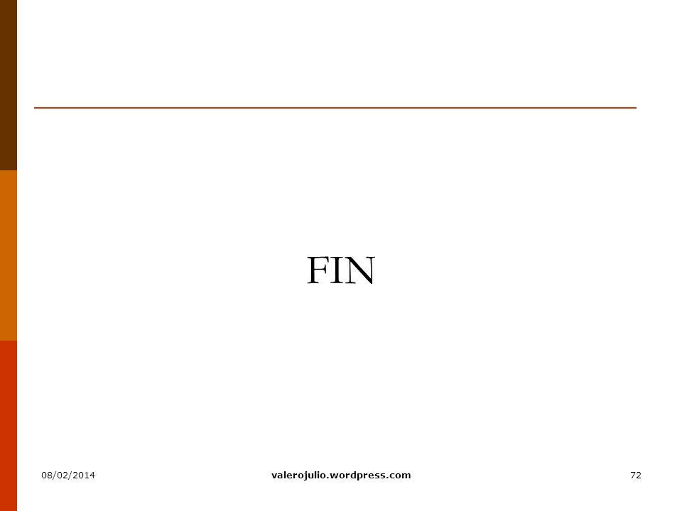 72 FIN 08/02/2014valerojulio.wordpress.com