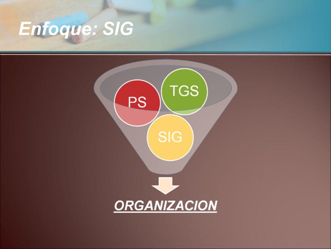 Enfoque: SIG