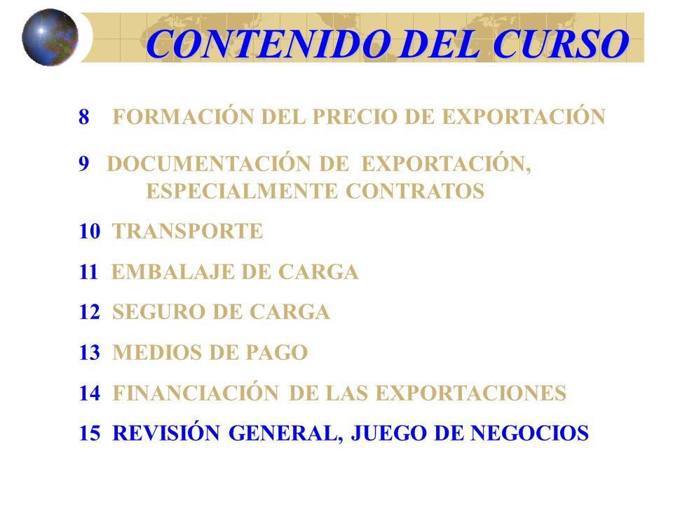 ¿Cuál de los siguientes documentos confiere título de la propiedad de la mercancía exportada.