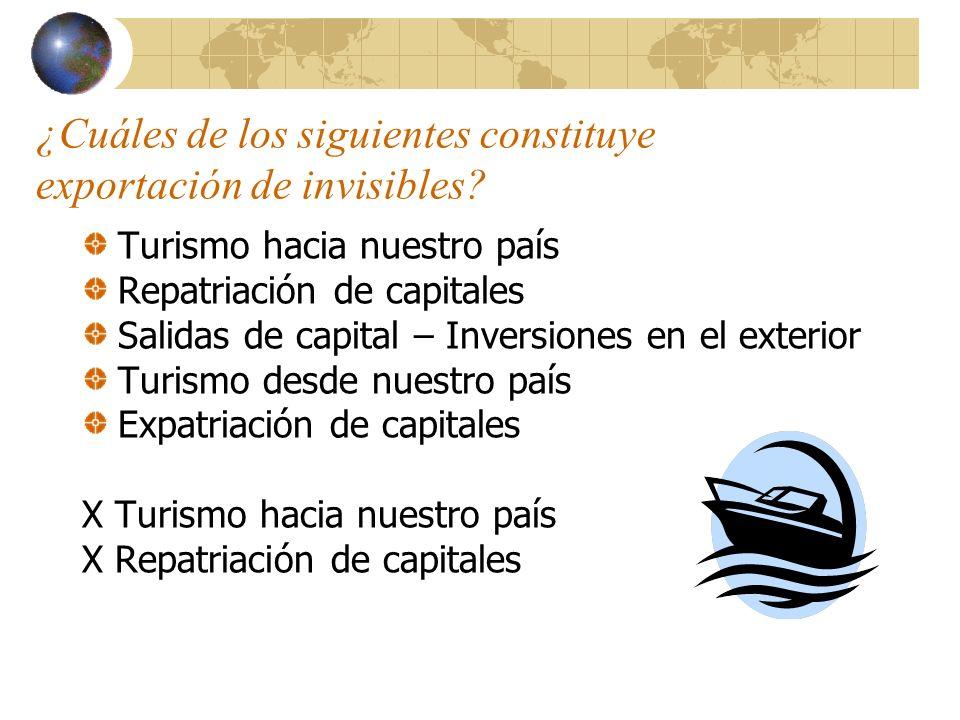 Enumere siete ventajas del incremento de las exportaciones: 1.- Mayor disponibilidad de moneda extranjera para las importaciones necesarias.