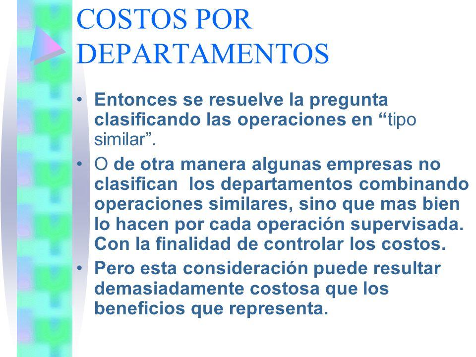 DEPARTAMENTO DE SERVICIOS Una fábrica no puede operar sin los departamentos de producción, y éstos sin el departamento de servicios.