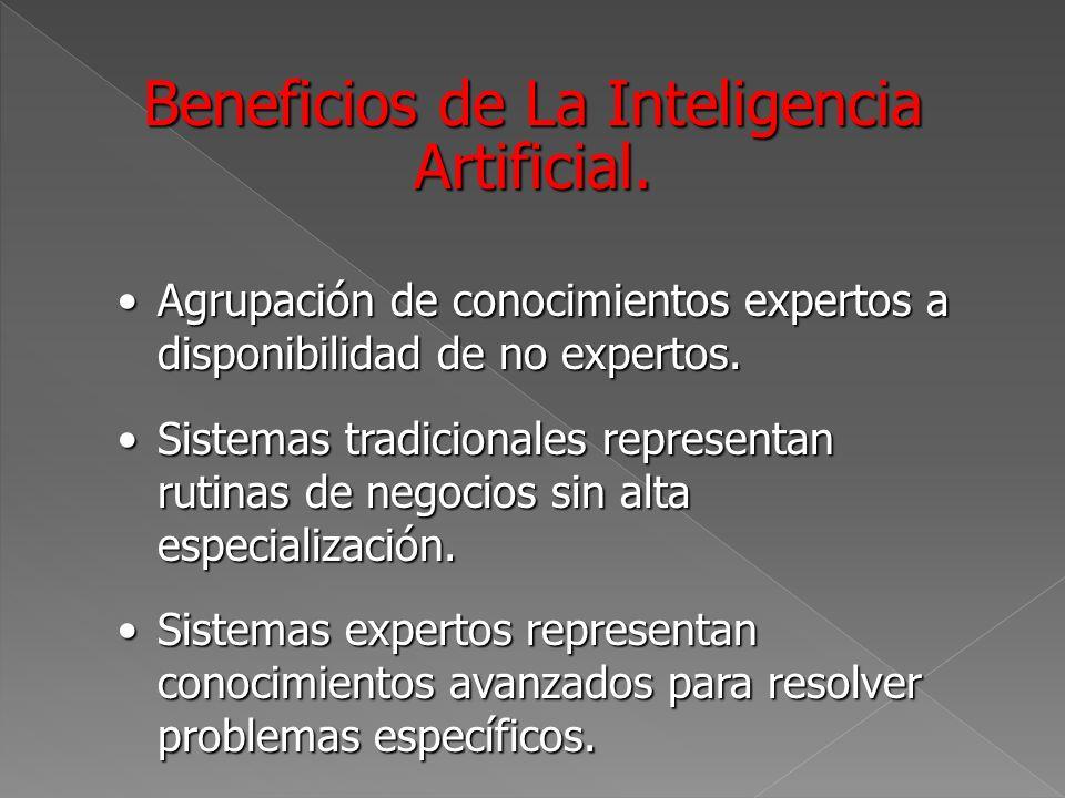 Sistemas Inteligentes Buscan replicar el razonamiento humanoBuscan replicar el razonamiento humano Aprenden solos.Aprenden solos.