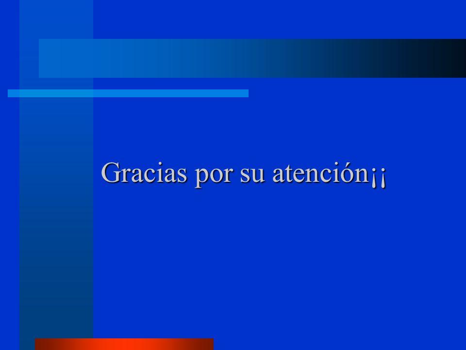Gracias por su atención¡¡