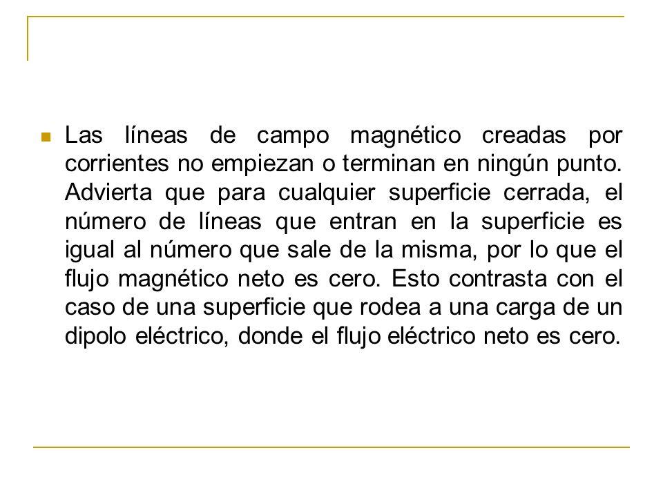 La Ley de Gauss del magnetismo establece que el flujo magnético a través de cualquier superficie cerrada es siempre cero.