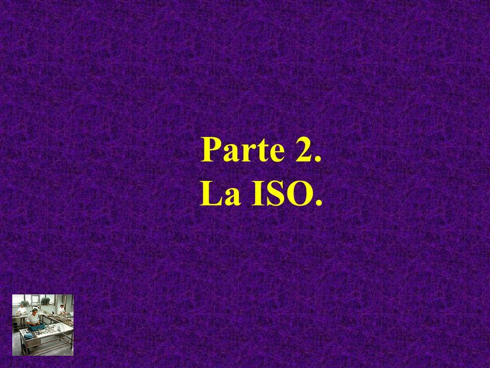 Parte 2. La ISO.