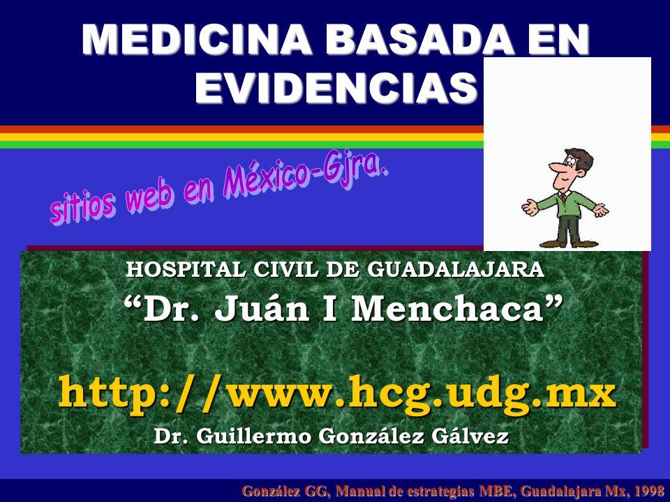 MEDICINA BASADA EN EVIDENCIAS Medicina basada en pruebas Medicina basada en pruebas http://usuarios.bitmailer.com/rafabravo/mbe.htm http://usuarios.bi