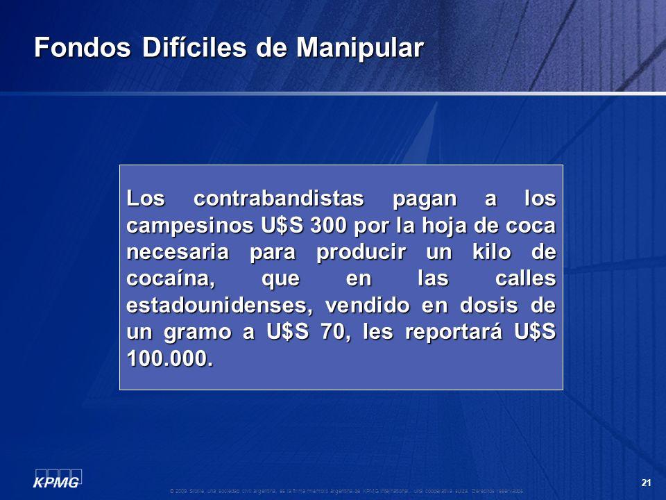 20 © 2009 Sibille, una sociedad civil argentina, es la firma miembro argentina de KPMG International, una cooperativa suiza. Derechos reservados. Fond