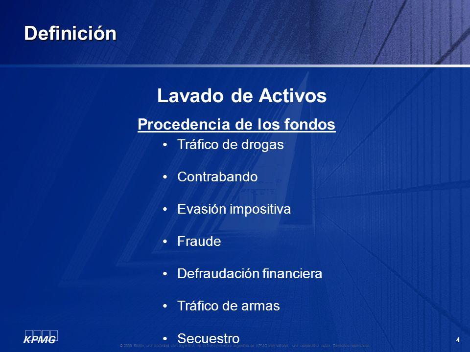 3 © 2009 Sibille, una sociedad civil argentina, es la firma miembro argentina de KPMG International, una cooperativa suiza. Derechos reservados. Defin