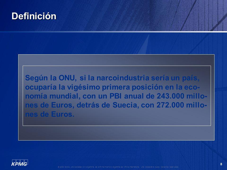 7 © 2009 Sibille, una sociedad civil argentina, es la firma miembro argentina de KPMG International, una cooperativa suiza. Derechos reservados. Defin